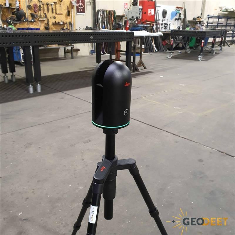 Leica BLK360 3D laserscanner pointcloud puntenwolk maken Geodeet